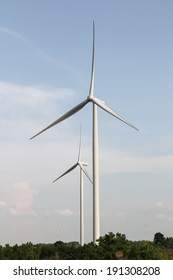 Wind turbine's innovative use of natural energy. Power to determine A clean energy Environmentally friendly as well.