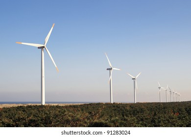 Wind Turbines in Japan