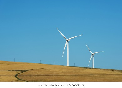 wind turbines for making electricity