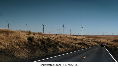 wind turbines in Oregon