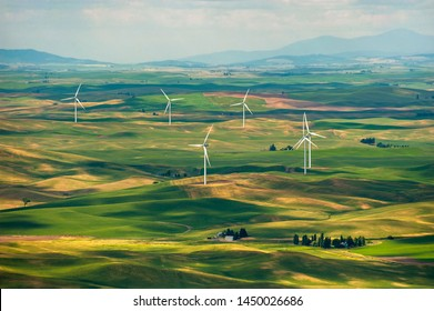 pullman washington images stock photos vectors shutterstock https www shutterstock com image photo wind turbines seen steptoe butte state 1450026686
