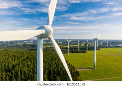 Wind Turbines Windmill Energy Farm