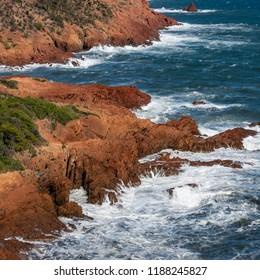 Wind and waves around the coast