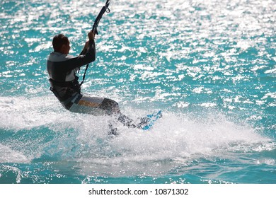 wind and waves: was a great place to kite and surf