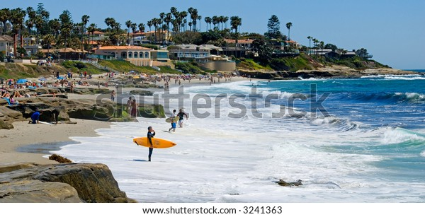 Windansea beach in San Diego