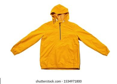 windbreaker jacket isolated on white background