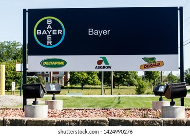 Windfall - Circa June 2019: Bayer Crop Science Seed Production. After the acquisition of Monsanto, Bayer is responsible for its glyphosate lawsuits IV
