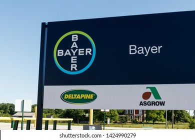 Windfall - Circa June 2019: Bayer Crop Science Seed Production. After the acquisition of Monsanto, Bayer is responsible for its glyphosate lawsuits III