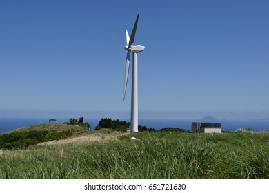 Wind-generated electricity