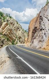 A Winding Mountain Road
