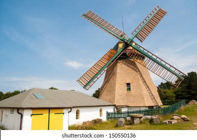 Windmill Amrum - northsea - Germany