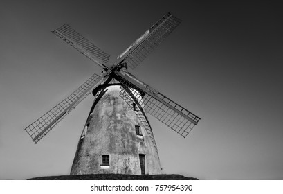 windmill black withe