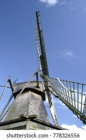 Windmill and blue heaven