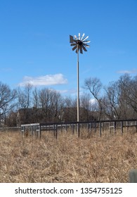 Windmill in Chicago suburbs