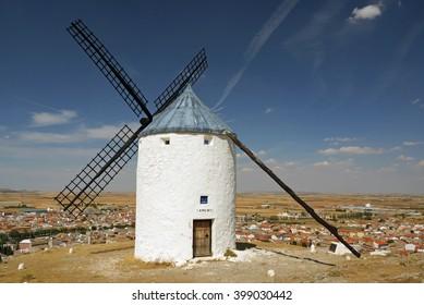 Windmill, Consuegra, Spain