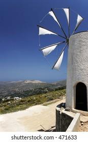 Windmill in Crete