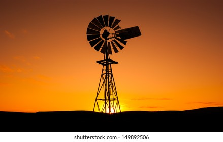 Windmill in the Eyre Peninsula, South Australia