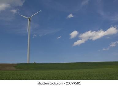 Windmühle in Deutschland