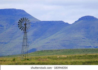 Windmill in the Karoo, South Africa