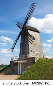 Windmill in Korycin, in Poland