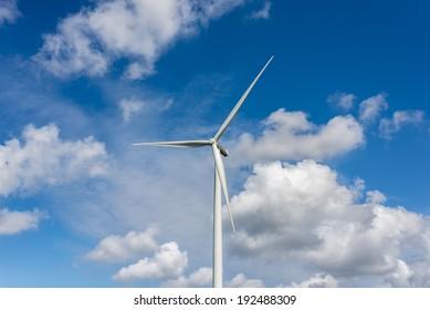 A windmill near Ventspils, Latvia