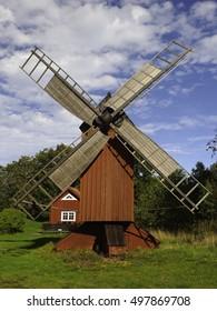 A Windmill on the finnish Island Aland