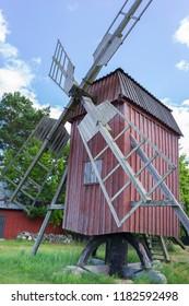 Windmill on Oland, Sweden