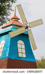 Windmühle für Gartendekoration im Freien