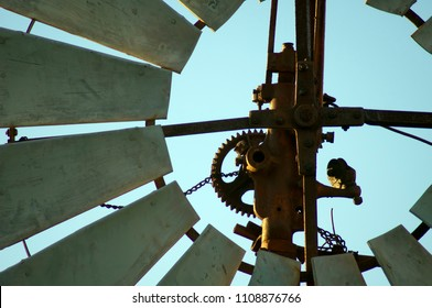 Windmill in park, Quorn, South Australia