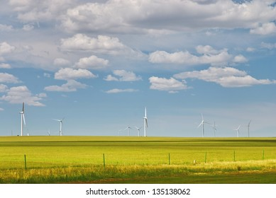 windmill in prairie