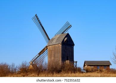 The windmill of Pudagla/Germany