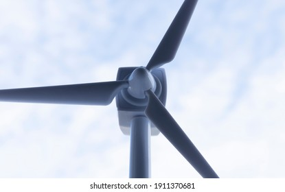 windmill renewable energy, environment, sky background