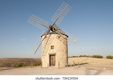 Windmill in Spain: Belmonte, Castilla la Mancha
