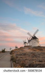 windmills of Consuegra in Spain