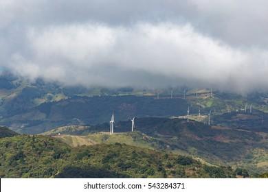 Windmills in costa rica Renewable energy