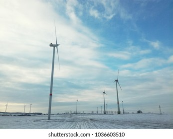 Windmills for electric power production,Germany