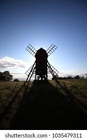 Windmills, Island of Oland, Sweden