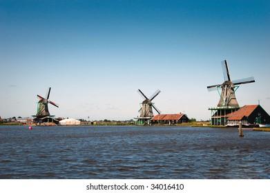 Windmills at Netherlands