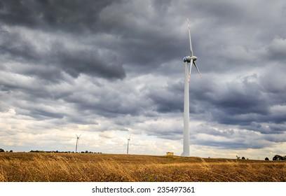 Windmills in Niechorze