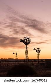 windmills at Penong