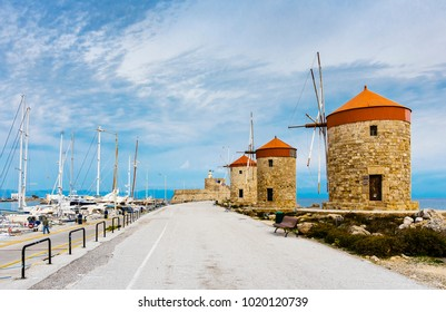 Windmills of Rhodes Island