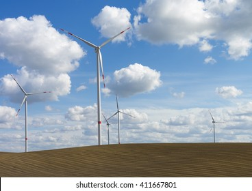 windmills (wind turbines)