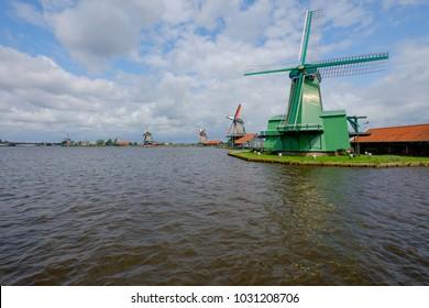 The windmills of Zaanse Schans/NL