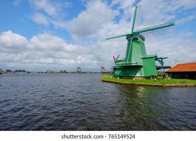 Windmills in Zaanse Schans/NL