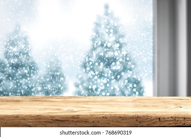 Window background and free space for your decoration on sill