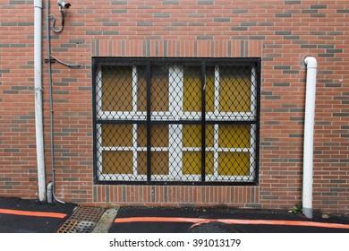 A window in Brick