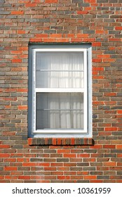 window  brick house