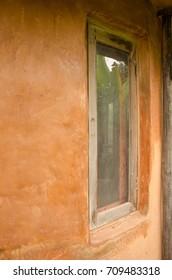 window Clay house