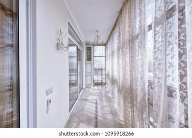 Window decoration curtains.