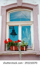 window and flowerbox